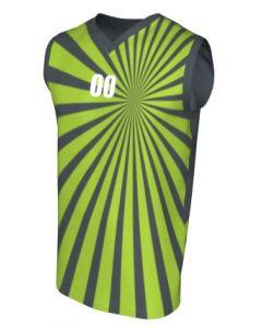 Canotta Basket Maschile Grafica Definita Personalizzabile - Stile 003