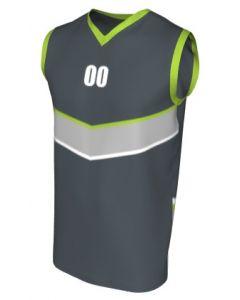Canotta Basket Maschile Grafica Definita Personalizzabile - Stile 008