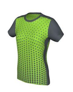 Maglia Volley Femminile Grafica Definita Personalizzabile - Stile 004